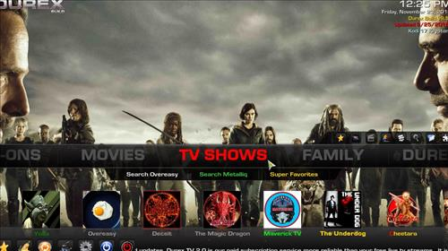 How to Install Durex Build Kodi 17.6 Krypton with Screenshots pic 2