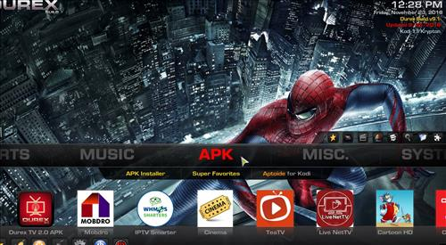 How to Install Durex Build Kodi 17.6 Krypton with Screenshots pic 4
