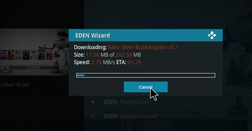 How to Install Eden Silver Kodi Build with Screenshots step 19