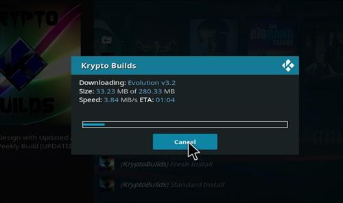 How to Install Evolution Kodi Build Leia 18 step 20