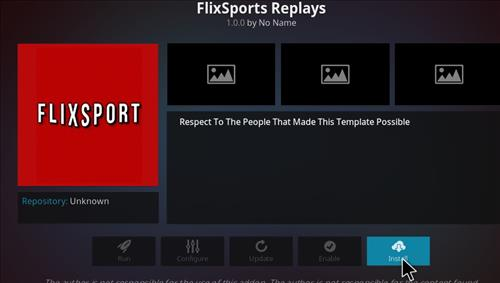 How to Install FlixSport Kodi Add-on with Screenshots step 18