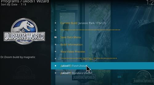 How to Install Jurassic Kodi Build with Screenshots step 25