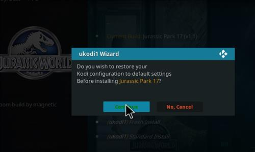 How to Install Jurassic Kodi Build with Screenshots step 26