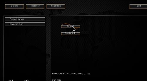 How to Install Krypton Xon Kodi Build with Screenshots step 24