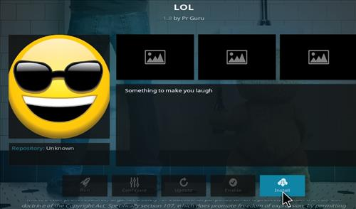 How to Install LOL Kodi Add-on with Screenshots step 18