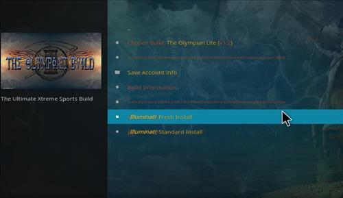 How to Install Olympian Lite Kodi Build with Screenshots step 23