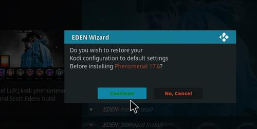 How to Install Phenomenal Kodi Build with Screenshots step 20