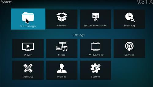 How to Install Revolution Kodi Build Leia 18 step 2