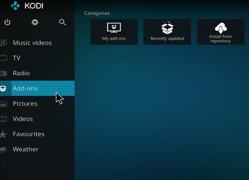 How to Install Revolution Kodi Build Leia 18 step 8