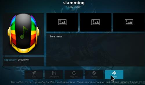 How to Install Slamming Kodi Add-on with Screenshots step 18