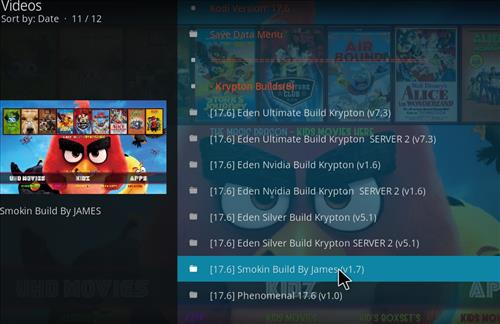 How to Install Smokin Kodi Build with Screenshots step 16