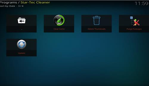 How to Install Star Tec Cleaner Kodi Add-on with Screenshots pic 2