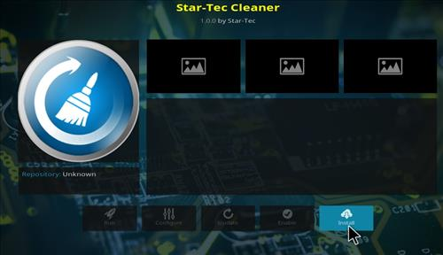How to Install Star Tec Cleaner Kodi Add-on with Screenshots step 18