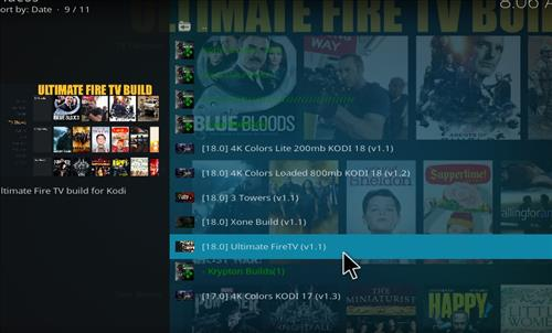 How to Install Ultimate Fire TV Kodi Build Leia 18 step 16