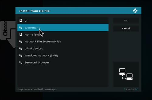 How to Installl Plutonium Kodi Build with Screenshots step 11