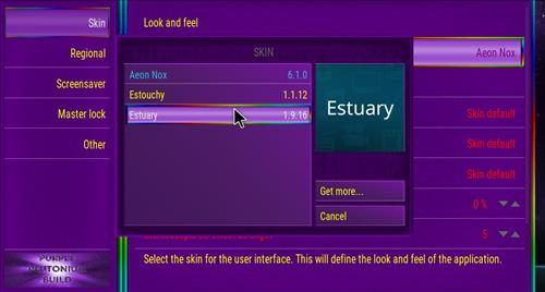 How to change the Skin back to Default Estuary Plutonioum step 4