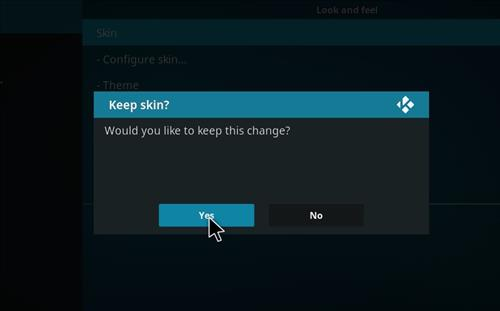 How to change the Skin back to Default Estuary Plutonioum step 5