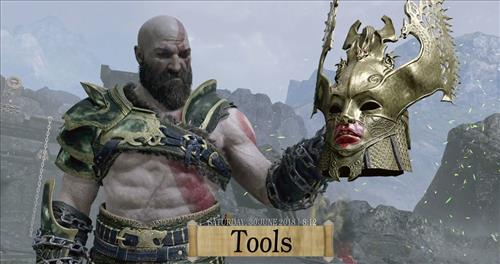 How to change the Skin back to Default Estuary god of war step 1