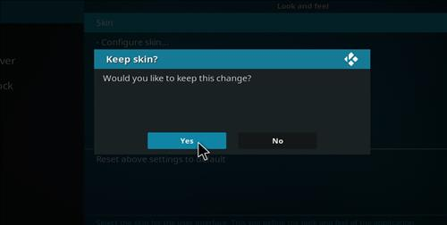 How to change the Skin back to Default Estuary jurrasic step 5