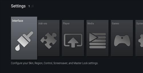 How to change the Skin back to Default Estuary ultimate fire tv step 2