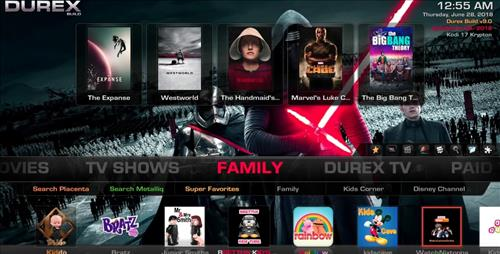 The Top Best KODI Build List Durex pic 4
