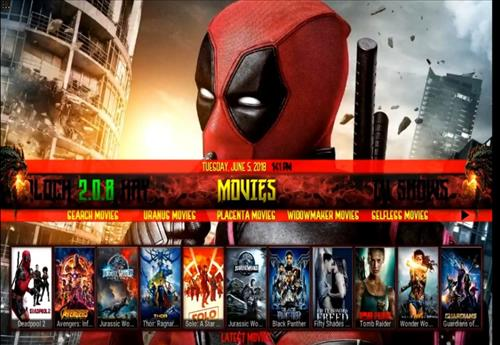 The Top Best KODI Build List Warlock Kodi pic 1