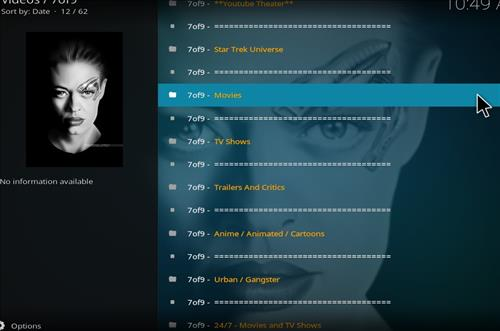 How to Install 7of9 Kodi Add-on with Screenshots pic 2