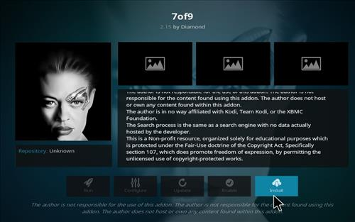 How to Install 7of9 Kodi Add-on with Screenshots step 19