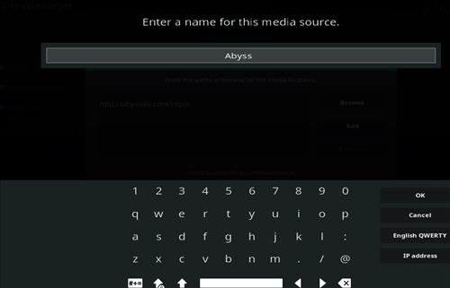 How to Install Abyss Kodi Add-on with Screenshots step 6