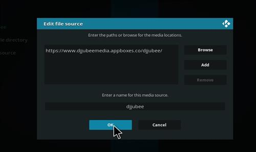 How to Install Dj Jubee Edition Kodi 18 Leia Build step 7