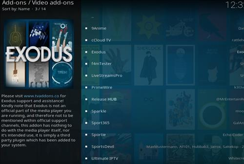 How to Install Exodus Kodi Add-on18 Leia step 18
