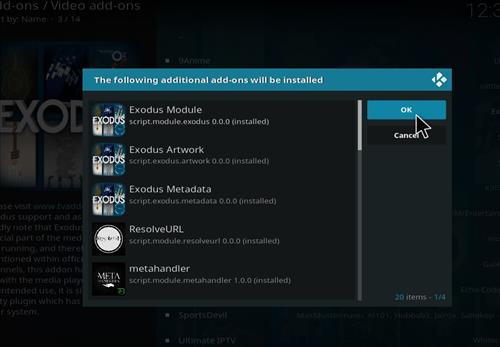 How to Install Exodus Kodi Add-on18 Leia step 20
