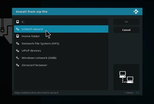 How to Install Ice Tigris Kodi Build with Screenshots step 11