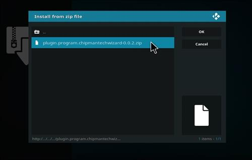 How to Install Ice Tigris Kodi Build with Screenshots step 12