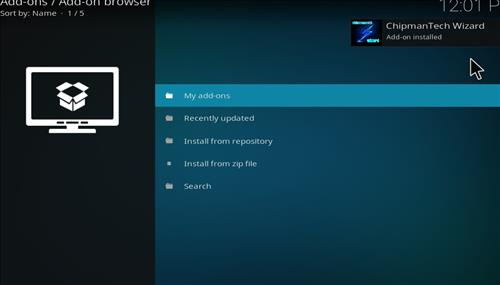 How to Install Ice Tigris Kodi Build with Screenshots step 13
