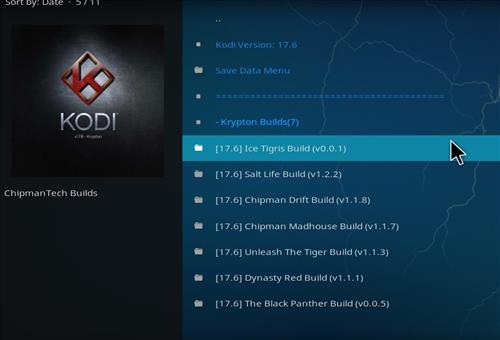 How to Install Ice Tigris Kodi Build with Screenshots step 16