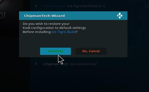 How to Install Ice Tigris Kodi Build with Screenshots step 18