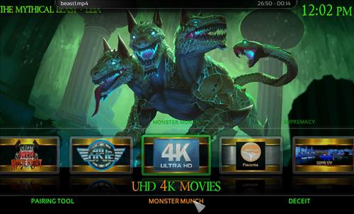 How to Install Mythical Beast Kodi Build 18 Leia pic 1