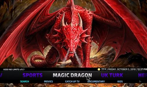 How to Install No Limits Magic Build Kodi Krypton pic 4