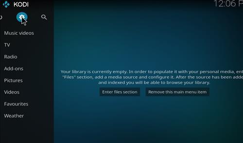 How to Install Resurrection Kodi Build with Screenshots step 1