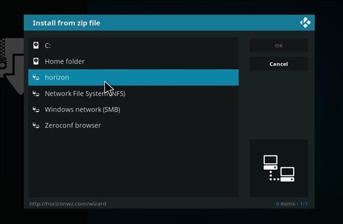 How to Install Resurrection Kodi Build with Screenshots step 11