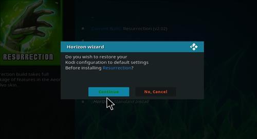 How to Install Resurrection Kodi Build with Screenshots step 18