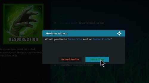 How to Install Resurrection Kodi Build with Screenshots step 20