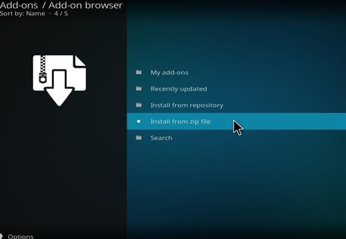 How to Install Ricochet Kodi Add-on with Screenshots step 10