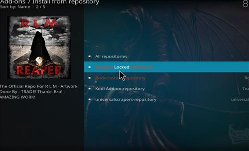 How to Install Ricochet Kodi Add-on with Screenshots step 15