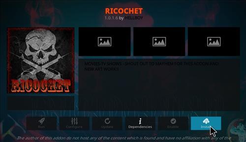 How to Install Ricochet Kodi Add-on with Screenshots step 18