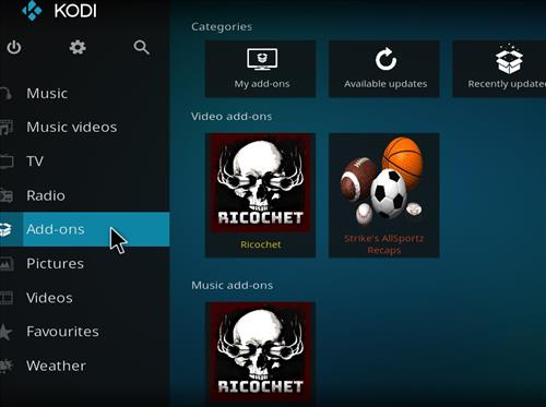 How to Install Ricochet Kodi Add-on with Screenshots step 8