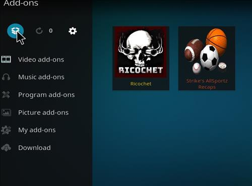 How to Install Ricochet Kodi Add-on with Screenshots step 9