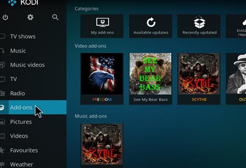 How to Install Sirens Kodi Build with Screenshots step 8