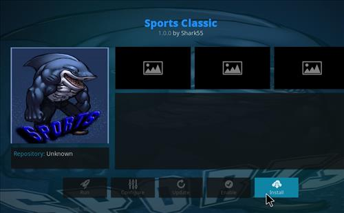 How to Install Sports Classic Kodi Add-on with Screenshots step 19